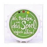 Trendhaus trendhaus934246Fußball Love Kapselheber mit Magnet