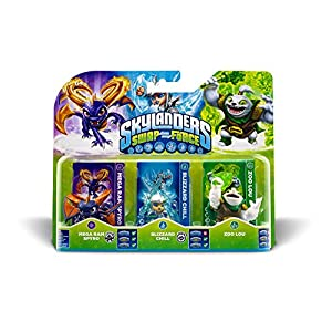 Skylanders Swap Force – Triple Pack B (Zoo Lou, Spyro, Chill)