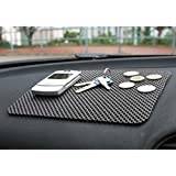 B TO B TRADERS Car Dashboard Anti-Slip Mat for All Cars(Black)