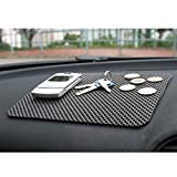 #1: B TO B TRADERS Car Dashboard Anti-Slip Mat for All Cars(Black)