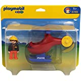 Playmobil 6789 1.2.3 Fire Helicopter