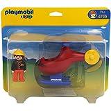 Playmobil 1.2.3 - Helicóptero de rescate (6789)