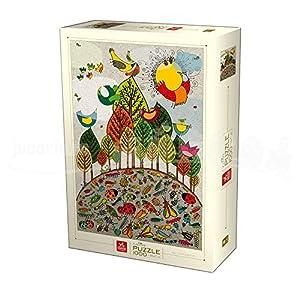 Deico Games Puzzle 76007/NA 02 - Puzzle en Forma de D (1000 Piezas)