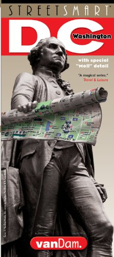 StreetSmart Washington DC Map by VanDam -- Laminated City Street pocket map with all museums, sights, monuments, government buildings and hotels plus Metro Subway Map, 2017 Edition (Washington Dc Street Map)
