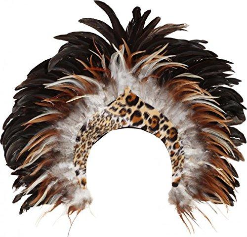 Kopfschmuck Dschungel - Dschungel Kostüm Damen