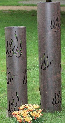 """Kerzenhalter-Set """"Flammen"""" (KERZENHALTER MET BRAUN 2ER 123867O)"""