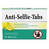 Anti-Selfie-Tabs - Für Selbstverliebte bei überproportionelen Selfie geposte - Lutschdragees / Lutschbonbons / Bonbons / Tabs / Lutschpastillen / Lustige Bonbons / Witzige Bonbons / Lustige Süßigkeiten / Witzige Süßigkeiten / Süssigkeiten Box - Naschen Nascherei - Lustiger Scherzartikel / Witziger Scherzartikel (Zitrone, 1er Pack)