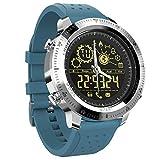 smart watch Intelligente Uhr Nx02, Wasserdichter Fitness-Tracker, Kalorien- / SchrittzäHler, FüR Mann-Frauen-Intelligente Sportuhr Im Freien Mit, FüR Android Und Ios-Two Farben Optional