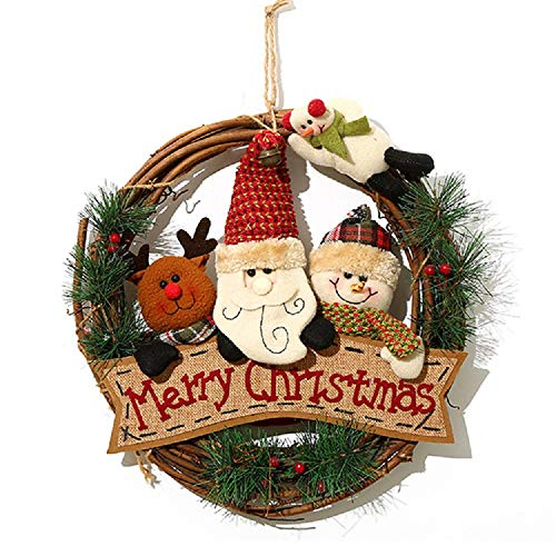 5a3dcffb4bc54 Comprar al MEJOR PRECIO · XONOR Guirnalda Navidad Puerta Delantera