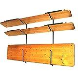 Wandhalterung für Biertischgarnitur-Set Biertischgarnitur, 143 cm Bierzeltgarnituren Tisch Bank Aufhängung Halterung Biertisch-Halter