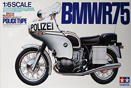 BMW R75/5 Polizei 1970 16006 Kit Bausatz 1/6 Tamiya Modell Motorrad Modell Auto