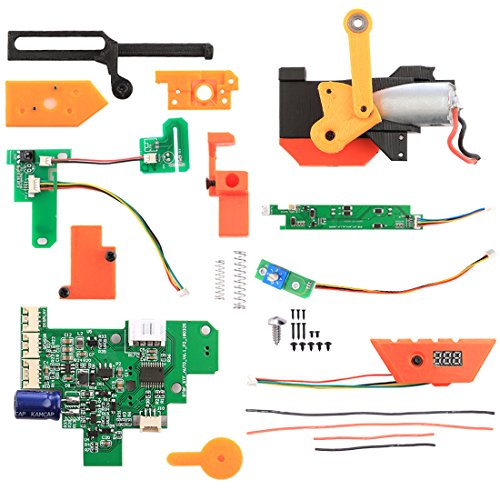 LoKauf Full Automatisch Mod Kit V6 High-End-Version Semi Auto/Full Auto/3-Round Burst Mod Set für Nerf Stryfe - Zubehör Farbe Zufällig