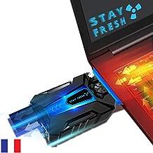 Sistema di raffreddamento per PC portatile USB-Ventilatore estrattore potente e silenzioso d'aria calda per raffreddamento PC portatile da 14 a 17