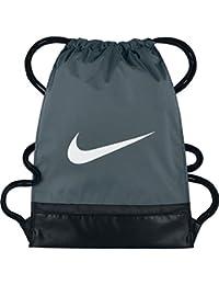 Nike Nk Brsla Gmsk Bolsa de Cuerdas, Hombre, Gris (Flint Grey/Black / White), Talla Única