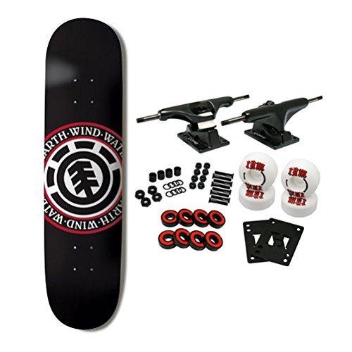 ELEMENT SKATEBOARDS Complete Skateboard TEAM SEAL BLACK 8.5 by ELEMENT