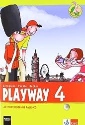 Playway. Für den Beginn ab Klasse 3 / Ausgabe 2013: Playway. Für den Beginn ab Klasse 3 / Activity Book mit Audio-CD 4. Schuljahr: Ausgabe 2013