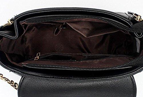 Weibliche Tasche Schulter Tasche Schräge Kreuz Handtasche Einfache Wilde Mode Pink