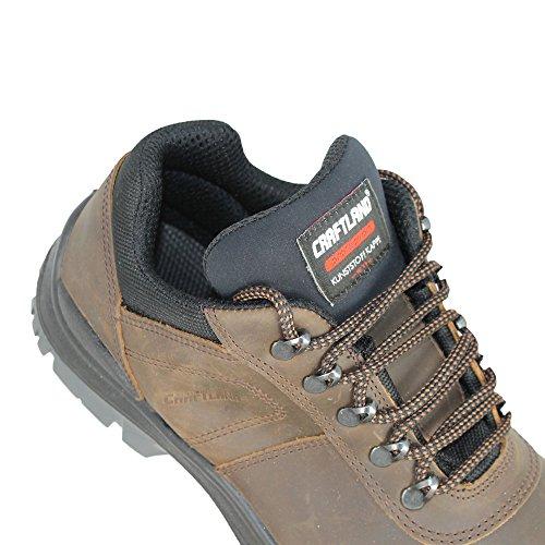 Craft Pays Olinda S3SRC Chaussures de sécurité business Chaussures Plat Marron B de Marchandises Marron - Marron
