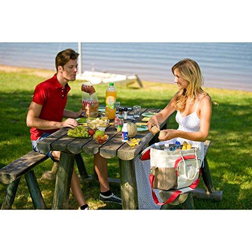Strandzubehör: Campingaz Kühltasche Picnic Cooler, 28 Liter, 46,5 x 32 x 35 cm -