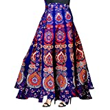 Trendy Fab Women's Cotton Full Long Skirt (Multicolour, Free Size) -Combo of 2 Pieces