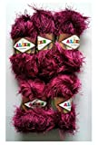 5x Cable de peluche de 500G de lana y flecos 100G ALIZE flecos de lana para tejer/ovillo de...