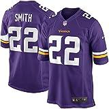 22 Harrison Smith Trikot Minnesota Vikings Jersey American Football Trikot Mens Purple Size XXXL(56)