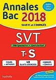 Annales Bac 2018 SVT Term S