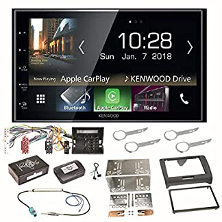 Kenwood-DMX-7018DABS-Digitalradio-CarPlay-Android-Auto-Bluetooth-USB-DAB-MP3-Einbauset-fr-Audi-TT-8J