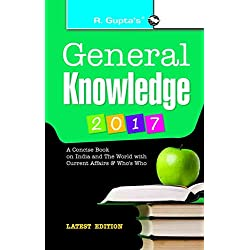 General Knowledge 2017: Latest Current Affairs & Who's Who