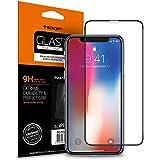 Spigen, Vetro Temperato iPhone XS / X, Custodia compatibile, Copertura Totale, Compatibile con Face ID, 5.8 pollici, Protezione per Schermo iPhone XS / X, Pellicola iPhone X (2018)