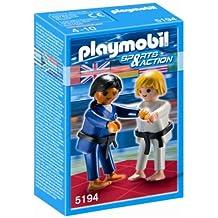Playmobil Sports & Action - Luchadores de judo