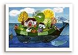 Poster fürs Kinderzimmer von Eva Maria Ott-Heidmann - Wunschtraum vom schnurverlag