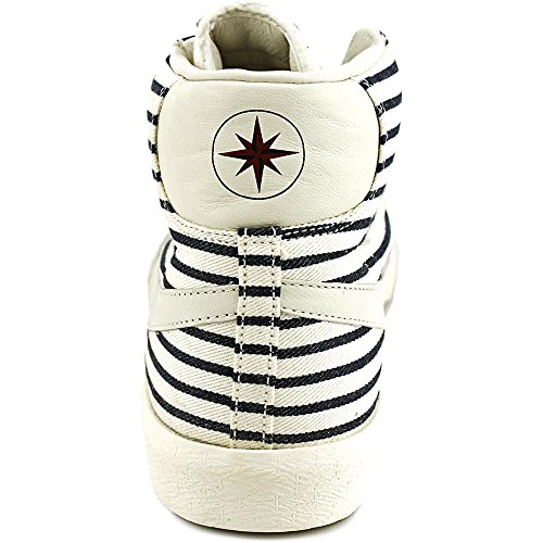 Nike Blazer Mid Prm Vntg Qs, espadrilles de basket-ball homme Multicolore - Blanco / Negro / Rojo (White / White-Drk Obsdn-Gym Rd)