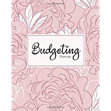Budgeting Planner: Pink Floral 12 Month Financial Planning Journal,Monthly Expense Tracker and Organizer, Home Budget book