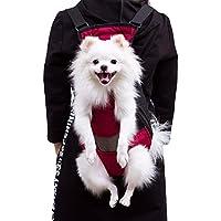 Patas delanteras para perros Mochila para perros, Bolsa para transporte de malla para perros y