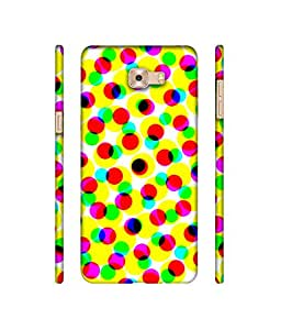NattyCase Colourfull Balls Design 3D Printed Hard Back Case Cover for Samsung Galaxy C9 Pro