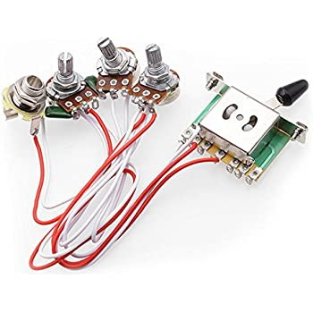 Incredible Electric Guitar Wiring Harness Kits For Strat Style Guitar Wiring Database Aboleterrageneticorg