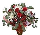 Ramo de flores pasion-FLORES FRESCAS-ENTREGA EN 24 HORAS