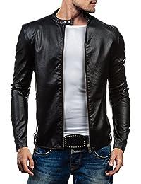 BOLF - Veste - Faux cuir - Fermeture éclair – Y-TWO 8977 – Homme