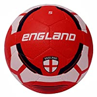 Vector X Men England-RB-5 Football - White-Red, 5