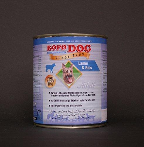 RopoDog 30lattine da 800gr Adult sensi Plus Agnello + riso