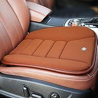 وسادة مقعد السيارة من RaoRanDang لمقعد السيارة أو كرسي المكتب أو للاستخدام المنزلي أو وسادة مقعد من الفوم المتكيف، لون القهوة