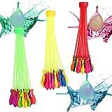 211 Bombes à eau,Oummit Bouquet de Ballons d'eau Multicolore Jouet Piscine Magique Parfait pour S'amuser en été Jouet Indispensable pour Vos Enfants.