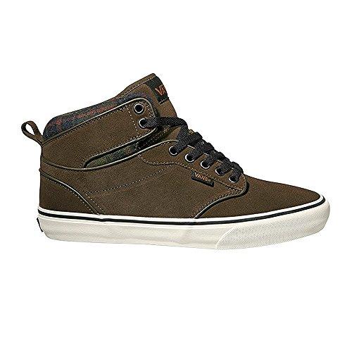 Vans Atwood Hi, Sneakers Hautes Mixte Enfant Brun