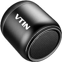 VTIN Mini Enceinte Bluetooth Portable Haut Parleur Etanche IPX5 avec Son Puissant Antichoc, Scratchproof pour iPhone, Samsung, Nexus, HTC, HuaWei, iPad, Tablettes, ECT