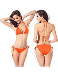 MAX MALL Mujeres Push-up Traje de baño Bañadores Bandeau Bikini Sets Swimsuit