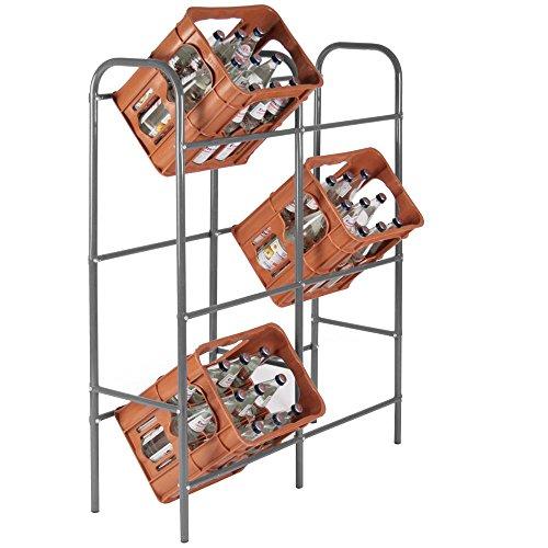 Ff-kasten (Jago Kastenregal Getränkekistenregal für bis zu 6 Kästen ca. 96x33x116cm)