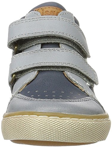 Bisgaard Unisex-Kinder Klettschuhe High-Top Blau (601 Blue)