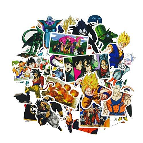 SetProducts Top Adesivi !  Lotto di 36 Adesivi Dragon Ball Z - Stickers...