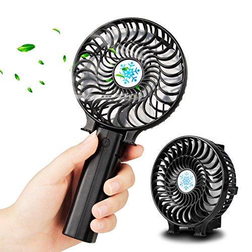 Outdoor Gute QualitäT Geeignet Für Büro Camping WunderschöNen Tragbare Mini Usb Fan Wiederaufladbare Große Wind Ultra Ruhig